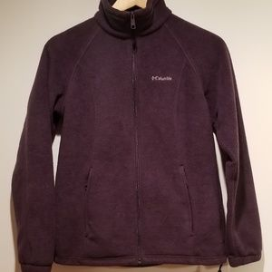 Columbia Fleece Jacket dark purple